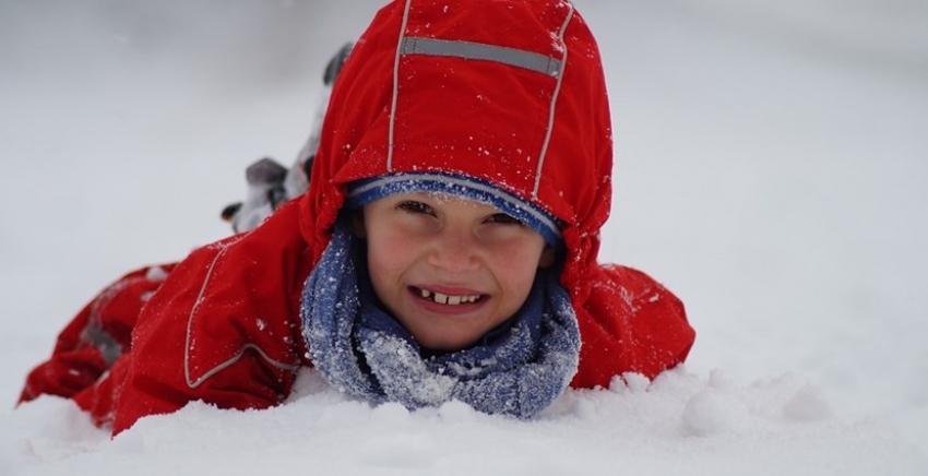 Péče o dětskou pokožku v zimě