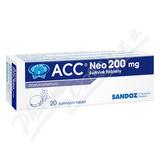 Acc 200 NEO 200mg 20 šumivých tablet