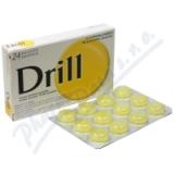 Drill Citron Mentol Pastilky 24 ks