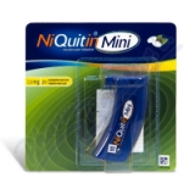 NiQuitin Mini 1. 5mg  20 pastilek