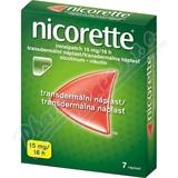 Nicorette Invisipatch 15mg-16h 7 náplastí