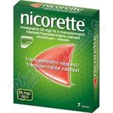 Nicorette Invisipatch 25mg-16h 7 náplastí