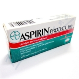Aspirin protect 100 por. tbl. ent. 28x100mg