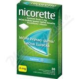 Nicorette Icemint Gum 4mg 30 žvýkaček bez  cukru