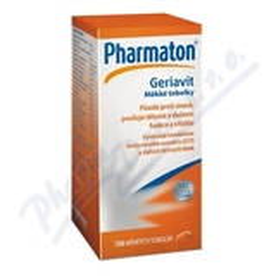 Pharmaton Geriavit por. cps. mol. 100 CZ