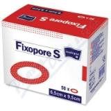 Fixopore S ovál 6. 5x9. 5cm - sterilní náplast 50ks