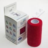 KineMAX Cohesive elastické samofixační 10cmx4. 5m červené