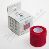 KineMAX Cohesive elastické samofixační 5cmx4. 5m červené