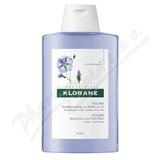 KLORANE Len 200ml šampon pro jemné vlasy,bez objemu
