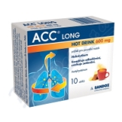 ACC LONG Hot drink 600mg 10 sáčků