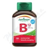JAMIESON Vitamín B12 kyanokobalamín 250mcg tbl. 100