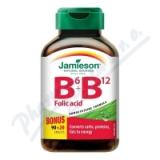 JAMIESON Vitamíny B6 B12+kyselina listová tbl. 110