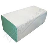 Ručníky papír. sklád.  ZZ zelené 1vrstvé 2x250ks