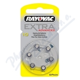 Baterie do naslouch. Rayovac Extra Advan. 10/PR7 6ks