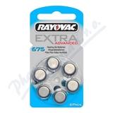 Baterie do naslouch. Rayovac Extra Adv. 675/PR44 6ks