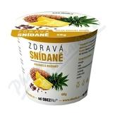 Zdravá snídaně od Obezinu ananas a rozinky 78g