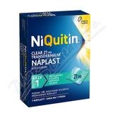 Niquitin Clear 21mg  7 náplastí