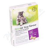 Drontal Dog Flavour 150-144-50mg tbl. 2