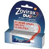 Zovirax Duo 50mg/g+10mg/g krém drm. crm.  1x2g