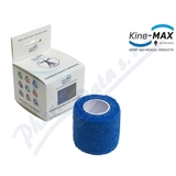KineMAX Cohesive elastické samofixační 2. 5cmx4. 5m modré