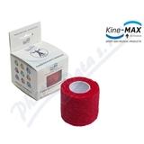 KineMAX Cohesive elastické samofixační 2. 5cmx4. 5m červené