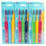 TePe Colour Seelct soft zubní kartáček 2 + 1