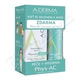 A-DERMA Phys-AC Global 40ml+Čisticí gel 100ml