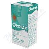 Orofar 2mg/1. 5mg/ml ústní sprej 30ml