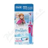 Oral-B El. kart. Vitality dětský Frozen + penál