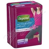 Inkontinentní kalhotky DEPEND Active-Fit L pro ženy 8ks