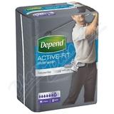 Inkontinentní kalhotky DEPEND Active-Fit M pro muže 8ks