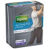 Inkontinentní kalhotky DEPEND Active-Fit L pro muže 8ks