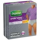 Inkontinentní kalhotky DEPEND Maximum L/XL pro muže 9ks