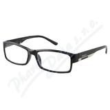 Brýle čtecí +1. 50 FLEX UV400 černé s kov. doplňkem