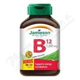 JAMIESON Vitamín B12 1200mcg s post. uvolňov. tbl. 80