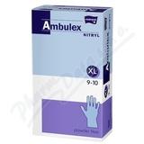 Ambulex Nitryl rukavice nitril. nepudrované XL 100ks
