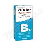 Vita B12 + kyselina listová 1 mg/400mcg tbl. 30