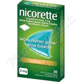 Nicorette Freshfruit Gum 2mg Léč. žvýk. guma 30x2mg