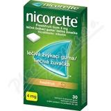 Nicorette Freshfruit Gum 4mg  30 žvýkaček bez cukru
