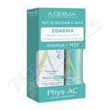 A-DERMA Phys-AC Hydra KIT 2018 3ks