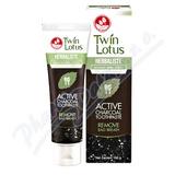 Twin Lotus Active Charcoal bylinná zubní pasta 150g