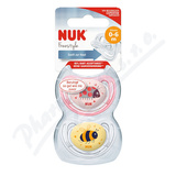 NUK Dudlík Freestyle SI V1(0-6m) BOX 2ks 730044