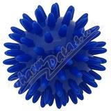 KINE-MAX PRO HEDGEHOG Masážní míček ježek 6cm MODRÝ