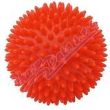 KINE-MAX PRO HEDGEHOG Masážní míček ježek 9cm ČERV.