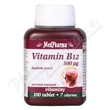 MedPharma Vitamin B12 500 mcg tbl. 107