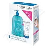 BIODERMA Atoderm Sprchový gel 1l+Mléko 200ml výhodné balení