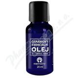 Renovality Gerániový esenciální olej 20ml