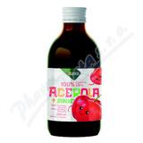 LEROS Baby ovocná šťáva acerola+jablko 250ml