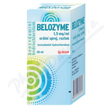 Belozyme 1. 5mg/ml ústní sprej 30ml