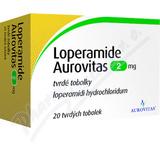 Loperamide Aurovitas 2mg 20 kapslí